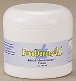 (a) FreeDerm AC - Joint & Muscle Support Cream